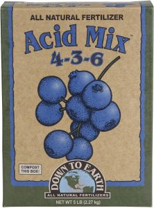Down To Earth Acid Mix Fertilizer