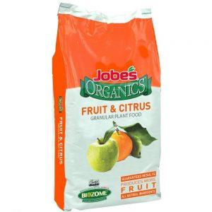 Jobe's Organics Fruit & Citrus Fertilizer Best Fertilizer For Fruit Trees