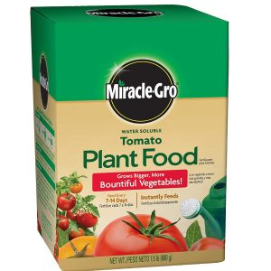 Miracle-Gro Water Soluble Tomato Best Fertilizers For Tomatoes