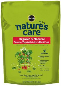 Nature's Care Organic & Natural Fertilizer