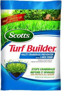 Turf Builder Halts Crabgrass