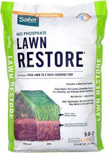Safer Brand Lawn Restore Fertilizer