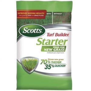 Scotts Turf Builder Starter Food Best Fertilizer For St. Augustine Grass