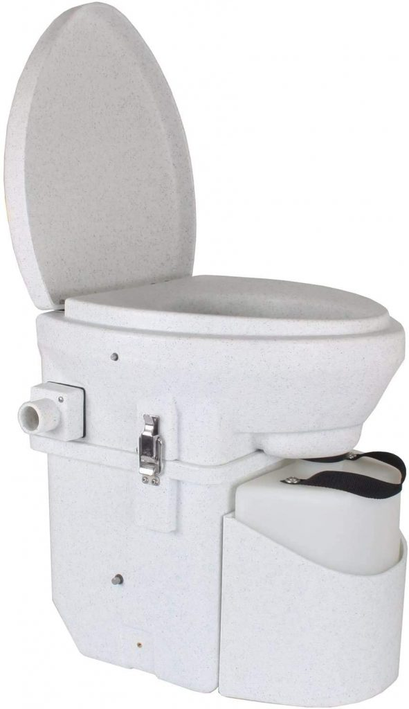 do composting toilets smell