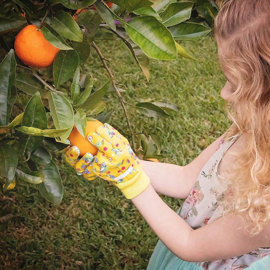 Gardening gloves for kids