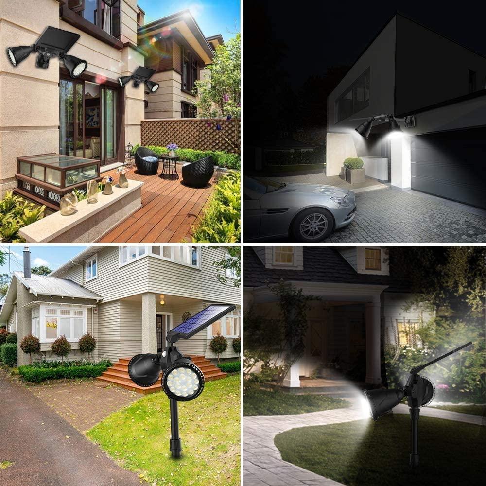 best outdoor solar spot lights