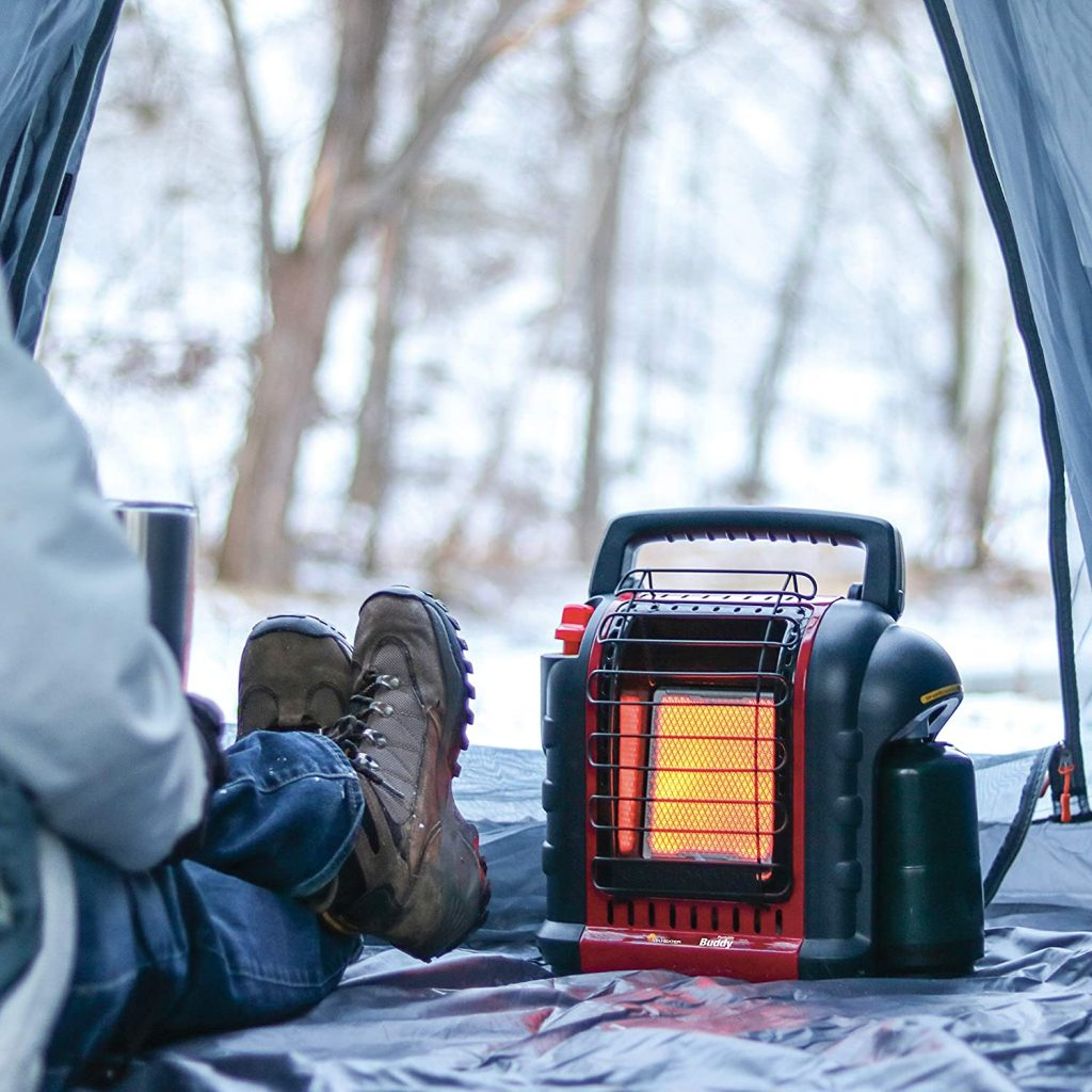 battery powered tent heater