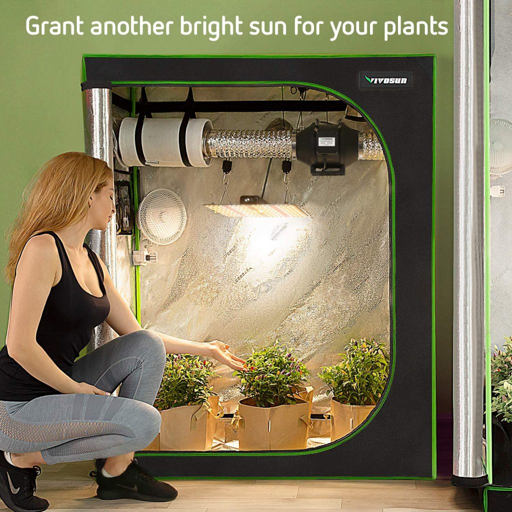 small indoor grow tent