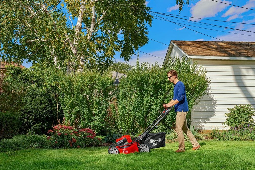 best commercial push mower