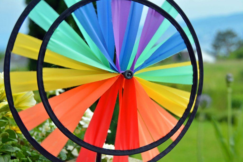 best garden pinwheel