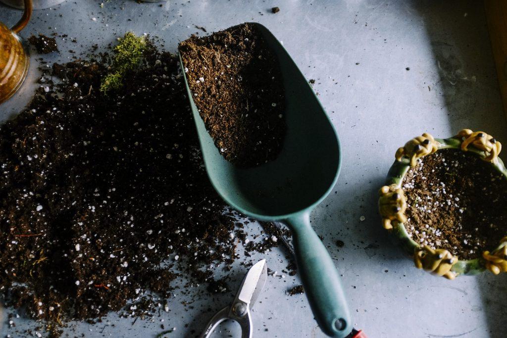 how to fix alkaline soil